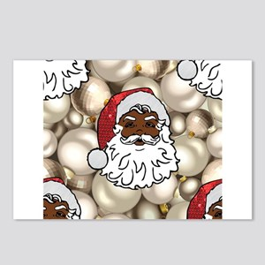 african santa claus Postcards (Package of 8)