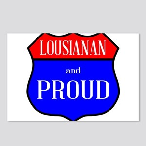 Lousianan And Proud Postcards (Package of 8)