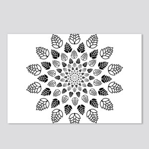 Hop Mandala Postcards (Package of 8)