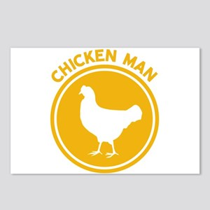 Chicken Man Postcards (Package of 8)