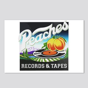 Peaches Records and Tapes Postcards (Package of 8)