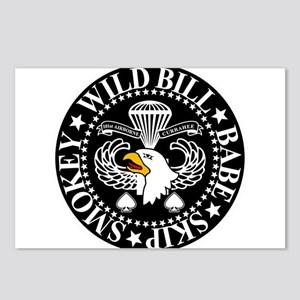 Band of Brothers Crest Postcards (Package of 8)
