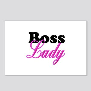 Boss Lady Postcards (Package of 8)
