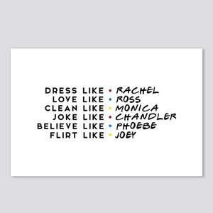 Dress Love Clean Joke Bel Postcards (Package of 8)