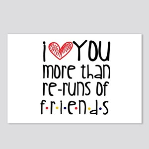 Love You More than Friend Postcards (Package of 8)