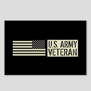 U.S. Army: Veteran (Black Postcards (Package of 8)