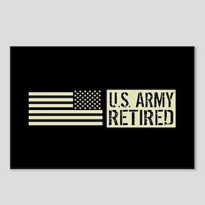 U.S. Army: Retired (Black Postcards (Package of 8)