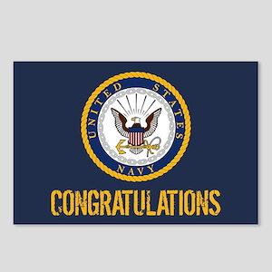 U.S. Navy: Congratulation Postcards (Package of 8)