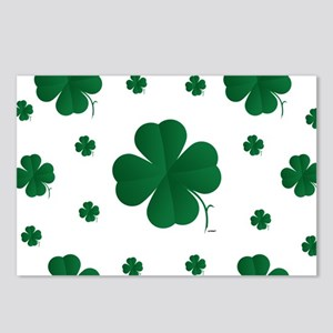 Shamrocks Multi Postcards (Package of 8)
