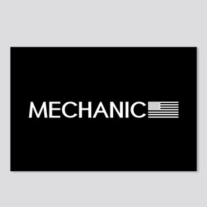 Mechanic: American Flag ( Postcards (Package of 8)