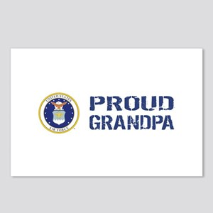 USAF: Proud Grandpa Postcards (Package of 8)