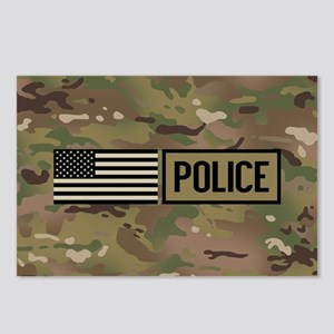 Police: Camouflage Postcards (Package of 8)