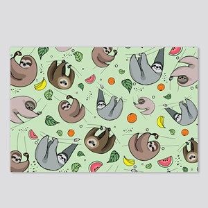Sloths Postcards (Package of 8)