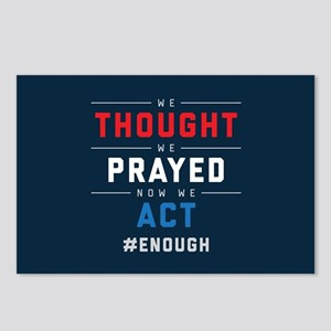 Now We Act #ENOUGH Postcards (Package of 8)
