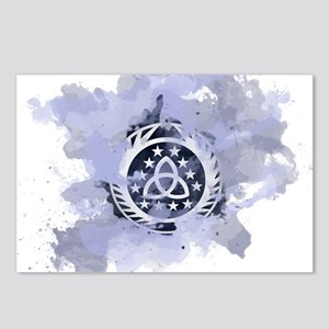 The 100 Clans Skaikru Postcards (Package of 8)
