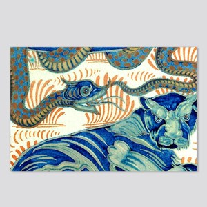 The Tiger And The Snake Postcards (Package of 8)