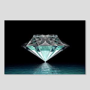 Aqua Diamond Postcards (Package of 8)