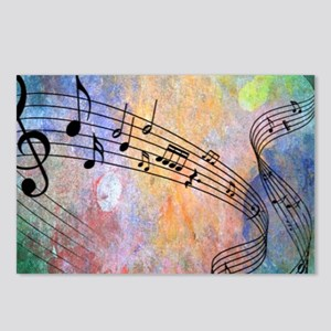 Abstract Music Postcards (Package of 8)