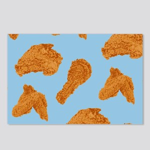 Fried Chicken Pattern Postcards (Package of 8)