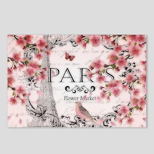 Paris spring Postcards (Package of 8)