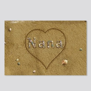 Nana Beach Love Postcards (Package of 8)