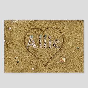 Allie Beach Love Postcards (Package of 8)
