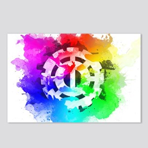 The 100 Heda (Pride Versi Postcards (Package of 8)