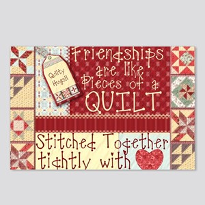 Friendships are Like Quilts Postcards (Package of