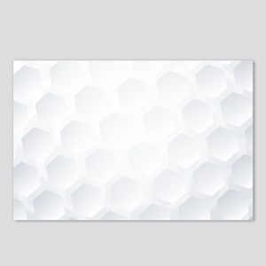 Golf Ball Texture Postcards (Package of 8)