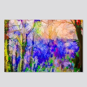 Nature In Stained Glass Postcards (Package of 8)