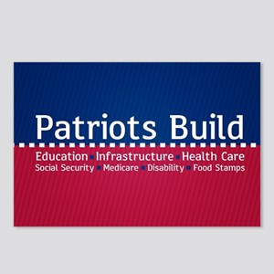 Patriots Build Postcards (Package of 8)