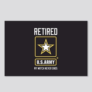US Army Retired Watch Nev Postcards (Package of 8)
