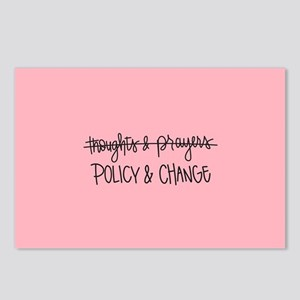 Policy & Change Postcards (Package of 8)