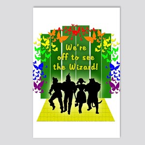 Off to see the Wizard of Postcards (Package of 8)
