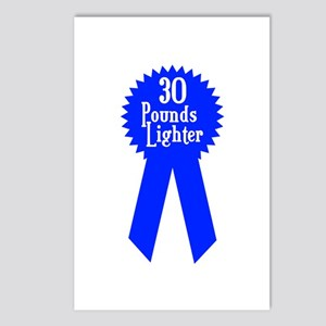 30 Pounds Award Postcards (Package of 8)