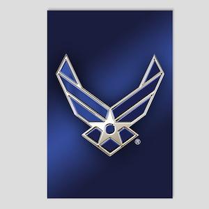 U.S. Air Force Logo Detai Postcards (Package of 8)