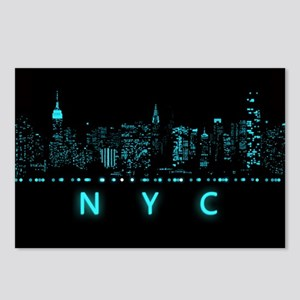 Digital Cityscape: New Yo Postcards (Package of 8)