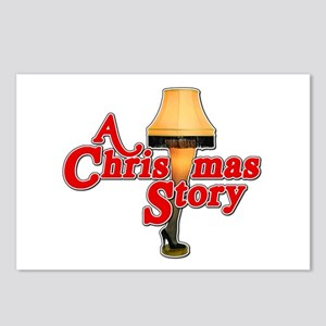 A Christmas Story Movie Lamp Postcards (Package of