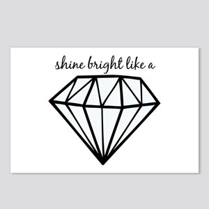 Shine Bright Like a Postcards (Package of 8)