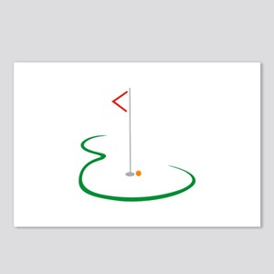 Golf Green Postcards (Package of 8)