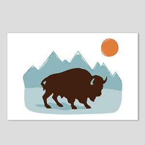 Buffalo Mountains Postcards (Package of 8)