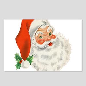 Vintage Santa Postcards (Package of 8)