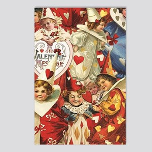 Valentine Jesters Postcards (Package of 8)