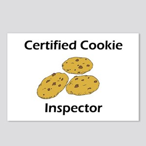 Certified Cookie Inspector Postcards (Package of 8