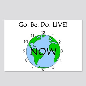 Go. Be. Do. LIVE! Postcards (Package of 8)