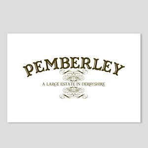 Pemberley A Large Estate In Derbyshire Postcards (