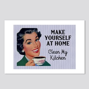 Make Yourself At Home Postcards (Package of 8)