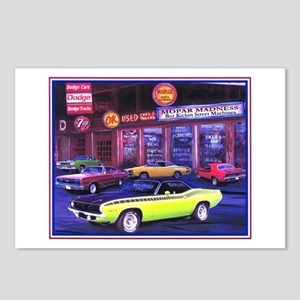 Mopar Madness Car Dealer Postcards (Package of 8)