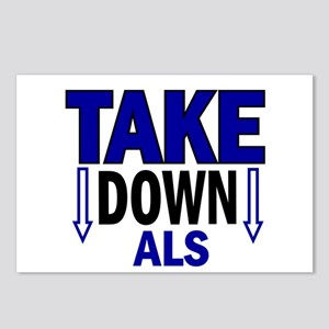 Take Down ALS 1 Postcards (Package of 8)