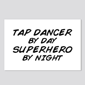 Tap Dancer Superhero by Night Postcards (Package o